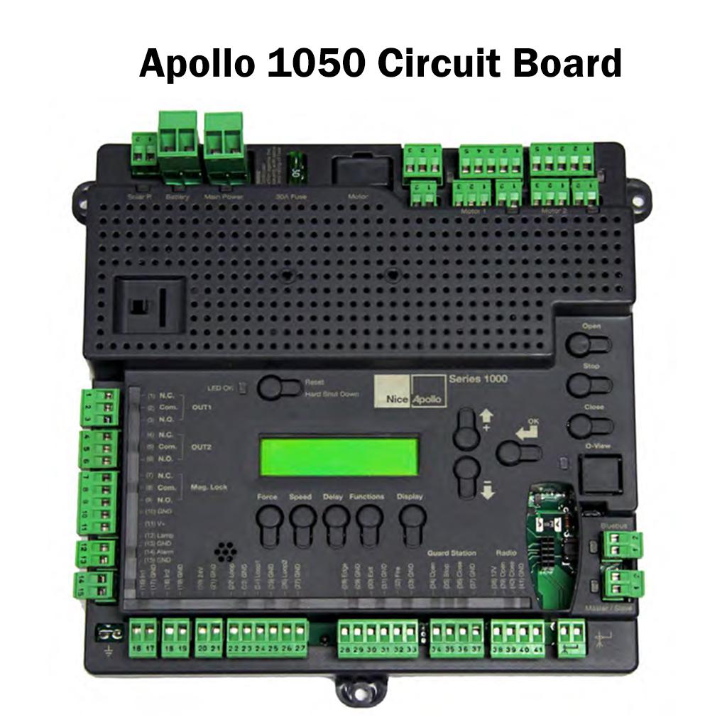 apollo circuit boards apollo control boards gate operator boards rh laornamental com Apollo 636 Circuit Board Manual Apollo 635 Gate Opener Manual