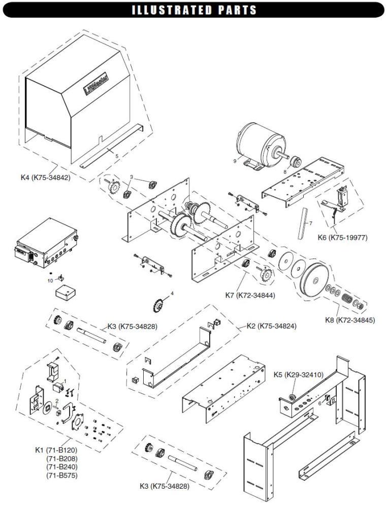 [QNCB_7524]  Liftmaster SL575 Parts Liftmaster SL575 Gate Operator Replacement Parts   Liftmaster Gate Openner Schematics      LA Ornamental