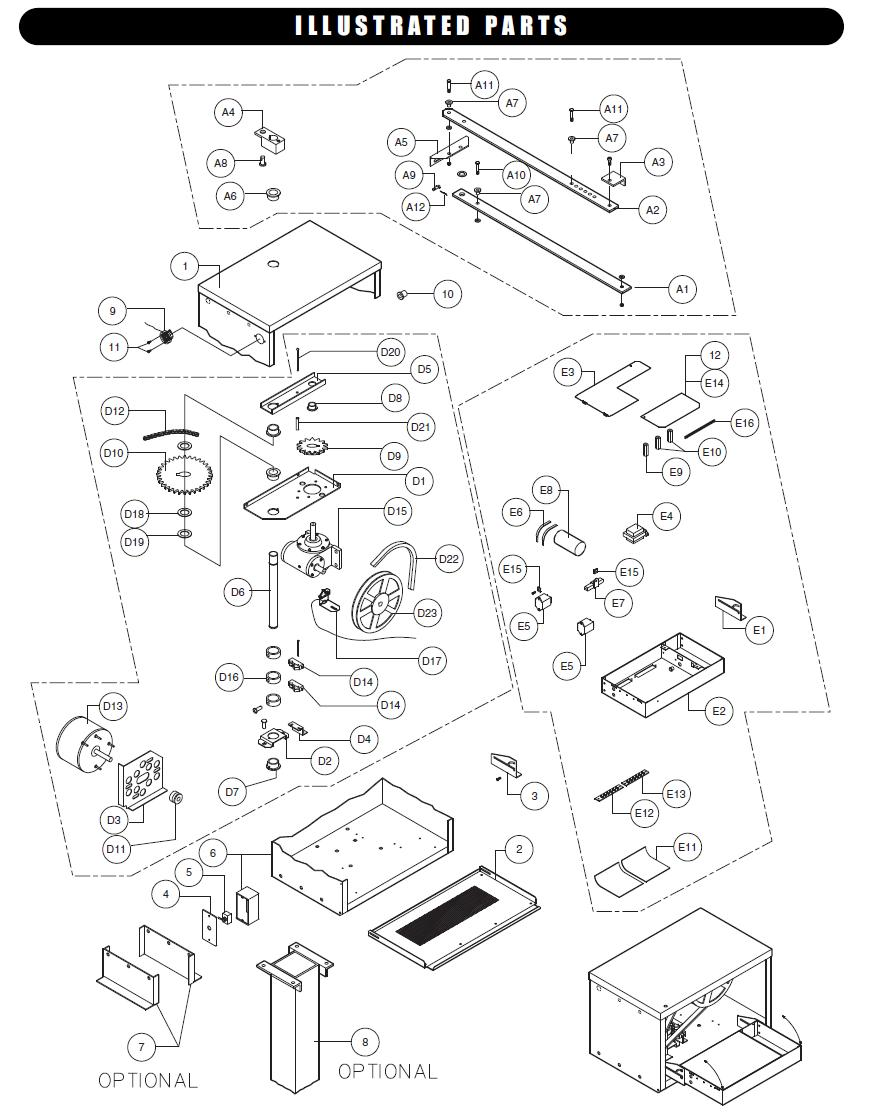 Liftmaster SW420 Parts, Liftmaster Replacement Parts for SW420 - Kits and Individual Parts