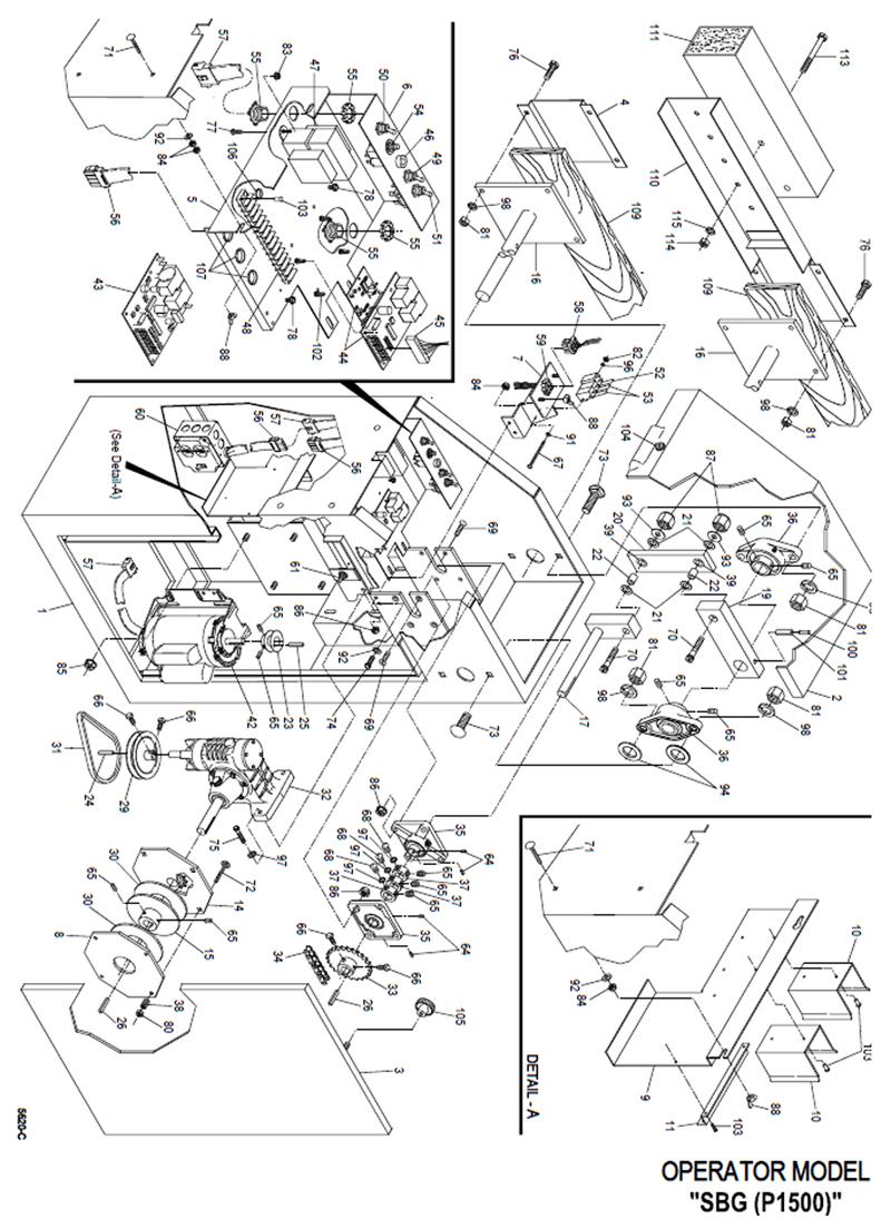 gate opener  gate opener circuit diagram