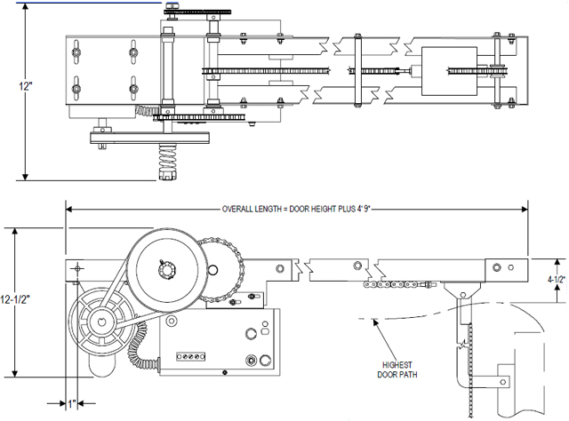 powermaster garage door wiring diagram