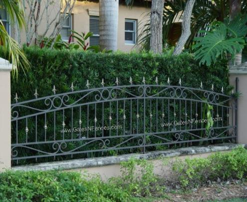 Brittany Spears Decorative Fence Aluminum Fence Decorative Garden Fence