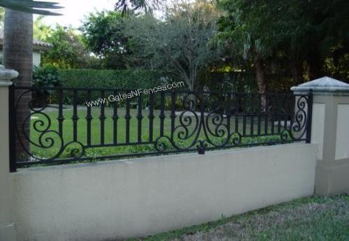 Aluminum Fence Designs Crescent moon ii aluminum fence design custom decorative design fence this aluminum estate fences are a great alternative frequently found in upscale neighbor hood a grand estate garden fence these fence designs have workwithnaturefo