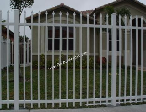 Aluminum Fence Designs Picket fences designs picket fences aluminum picket fences steel iron our fence company is americas first choice in electric aluminum fence and security fence applications whether residential or commercial privacy fence workwithnaturefo