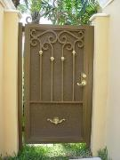 Garden Iron Gate-Fence Panel availible