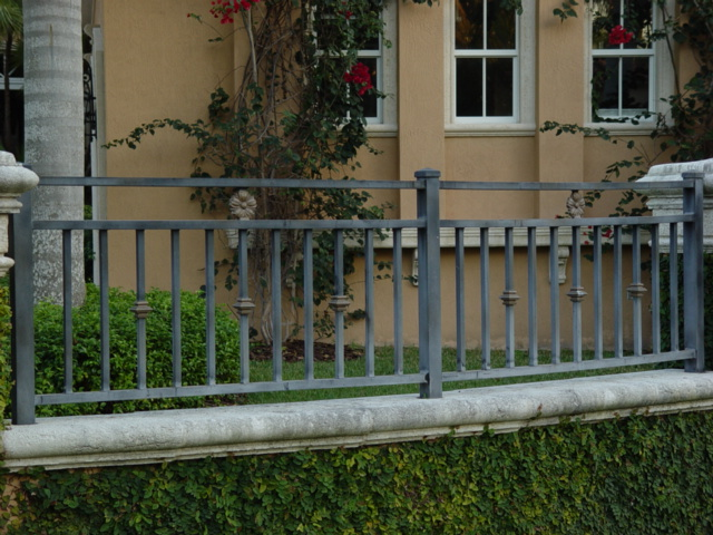 Aluminum fence picket fences privacy