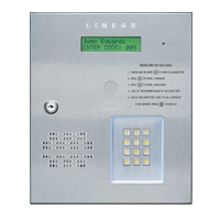 Linear Commercial Tely Entry | AE-500 | Access Control Gated Community | Door Security | Linear
