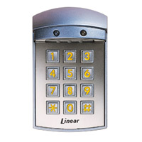 Linear AK-21W Weather-Resistant Digital Keypad Model Number: Linear AK-21W