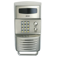 Linear RE-1N Telephone Entry System, Linear Residential Phone Entrance, Linear RE-1N