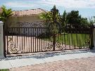 Golden Orchid|Driveway Aluminum Gate|Wrought Iron Gate|Sliding Gate