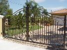 Sea Shells -Driveway Gate, Automatic Gate, Electric Gate, Electronic Gate, Custom Gate