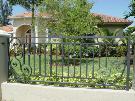 Crescent Moon I | Aluminum Fence Design | Custom Fence Design