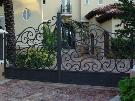 European Fan - Driveway Gate | Electric Gate | Wrought Iron