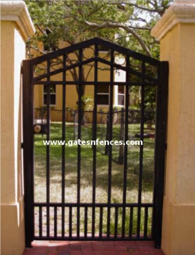Modern Arrow   Walk Thru Gate, Tall Walk Through Gate, Wide Walk Thru Gate,  Entry Gate
