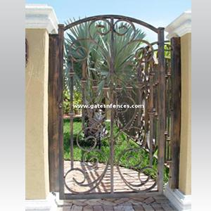 Aluminum Garden Gates Decorative Gates Wrought Iron Garden