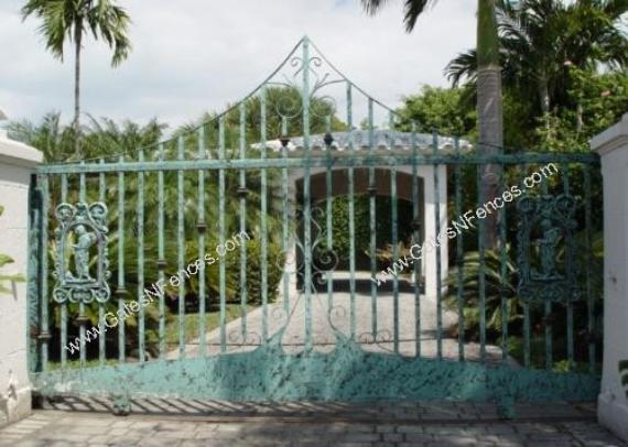 Decorative Driveway Aluminum Gates Decorative Aluminum