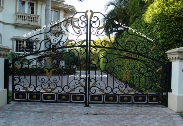 Estate Gates Iron Estate Gates Aluminum Estate Gates Metal