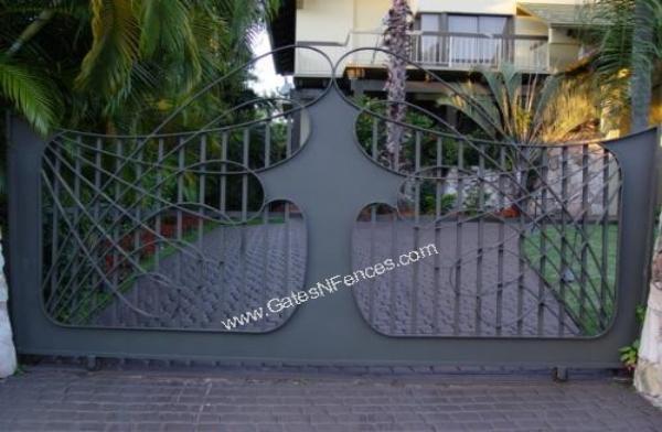 Spear Of The Ocean Driveway Gate Custom Gate Driveway