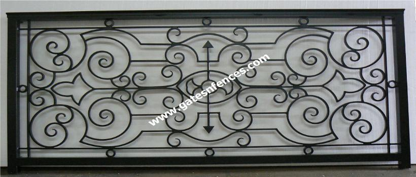 Railings Balcony Porch Deck Rails Metal Aluminum Wrought Iron Railings