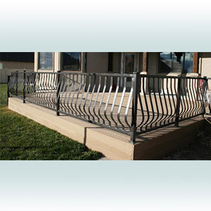 Modern Belly Railing